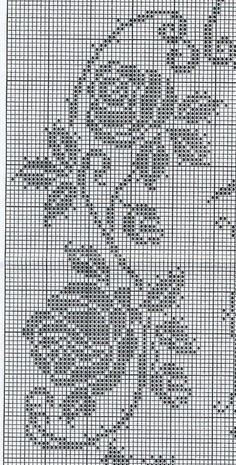How to Crochet Wave Fan Edging Border Stitch Filet Crochet Charts, Crochet Motifs, Crochet Flower Patterns, Crochet Doilies, Crochet Lace, Crochet Stitches, Crochet Ideas, Cross Stitch Borders, Cross Stitch Flowers