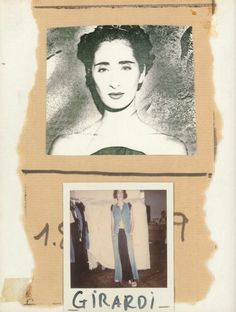 Image of the Maison's muse, Girardia, from A Magazine curated by Maison Martin Margiela.