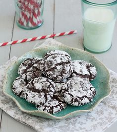 Triple-Chocolate Crinkle Cookies | Tracey's Culinary Adventures