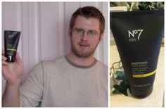 Boots No7 Men Energizing Face Wash Review