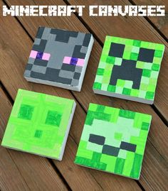 Paint Minecraft Canvases
