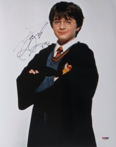 Daniel Radcliffe Signed Harry Potter Authentic Autographed 11x14 Photo (PSA/DNA) @ niftywarehouse.com #NiftyWarehouse #HarryPotter #Wizards #Books #Movies #Sorcerer #Wizard