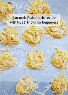 Learn How To Make Homemade Pasta