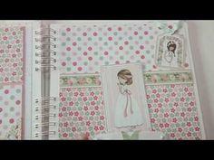 Album de fotos y Libro de Firmas de Mi Primera Comunión - YouTube Big Shot, Ideas Para, Album, Scrapbooking, Youtube, Ballet, Diy, Pink, Signature Book