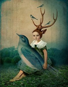 """Sing me a Song,"" Catrin Welz-Stein. And love bird art! Wall Art Prints, Fine Art Prints, Canvas Prints, Big Canvas, Buy Prints, Framed Prints, Fantasy Kunst, Fantasy Art, Creation Photo"