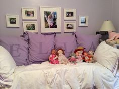 My toddler's new room! Purple Rooms, Pottery Barn Teen, My New Room, Daybed, Room Inspiration, Kids Room, Toddler Bed, Photo Galleries, Gallery