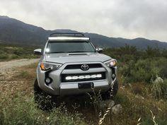 """2014-2016  Toyota 4Runner 31.5"""" Light Bar Hidden Bumper Brackets"""
