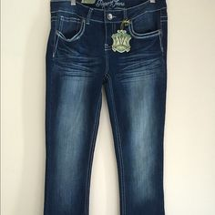 Request Jeans dark wash jeans sz 13 Brand new jeans great look for the season Request jeans Jeans Boot Cut