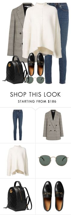 """Untitled #3192"" by elenaday on Polyvore featuring Yves Saint Laurent, STELLA McCARTNEY, URBAN ZEN, raen and Gucci"