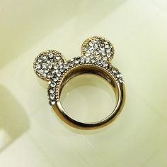 Mickey Mouse ring. <3