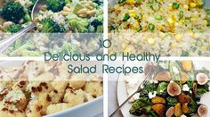 10 Delicious and Healthy Veggie Salads Gourmandelle