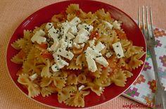 Ein All-Time Klassiker: Tomaten-Pasta Linguine, Spaghetti, Pasta Salad, Ethnic Recipes, Food, Few Ingredients, 500 Calories, Food Menu, Fresh
