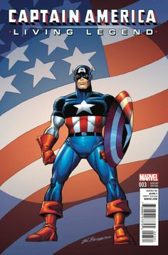 Captain America: Living Legend #3 Variant