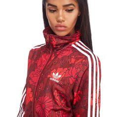 adidas Originals Floral Firebird Track Jacket