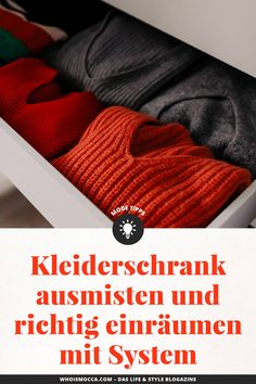 Muck out the wardrobe: Tips & Tricks! Clothes Organisation Ideas, Neue Outfits, Outfits Tipps, What Is Christmas, Christmas Decorations For The Home, German Fashion, Homemade Christmas, Girl Boss, Getting Organized