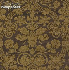 Featuring a luxurious damask design on a metallic effect print, Curtis Silk Damask is part of the Menswear Resource wallpaper collection by Thibaut.