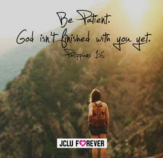 (:He has more plans for you