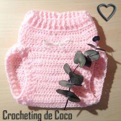 Braguita cubre pañal rosa bebé