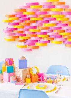 Diy Centerpieces, Diy Party Decorations, Party Themes, Party Ideas, Diy Paper, Paper Crafts, Paper Shaper, Honeycomb Paper, Paper Backdrop