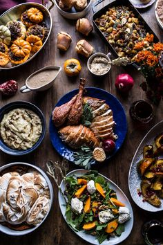 My Ultimate Thanksgiving Menu, find a Thanksgiving week's worth of delicious recipe sure to please everyone! From halfbakedharvest.com
