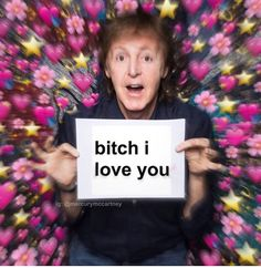 i luv u too macca Got Memes, Stupid Memes, Weird Pictures, Reaction Pictures, Beatles Meme, The Beatles Yesterday, Queens Wallpaper, Grunge Quotes, Just Good Friends