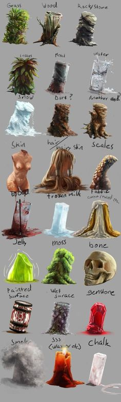Material and texture study by BiwerVincent on deviantART