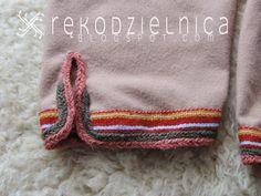 Skjoldehamn trousers leg cuff detail. By Żywia Krajewska