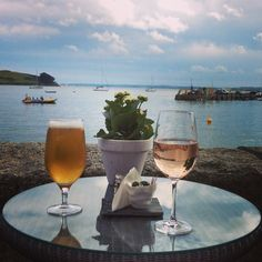 Table for two Idle Rocks Hotel St Mawes