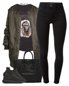 """""""vm"""" by justice-ellis ❤ liked on Polyvore featuring J Brand, adidas Originals and hedaj"""