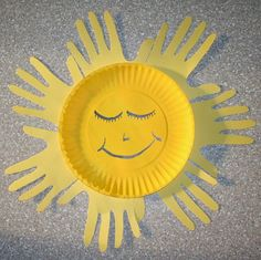 Chapter 11: Seasons and Celebrations: Paper Plate Sun