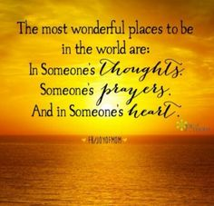 The most wonderful places to be