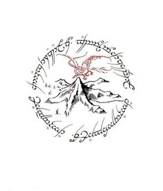 Tolkien Tattoo, Tatouage Tolkien, Hobbit Tattoo, Lotr Tattoo, Tattoo Fonts, Arm Tattoo, Sleeve Tattoos, Text Tattoo, Gandalf Tattoo