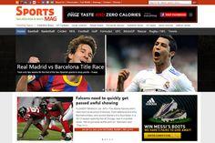 SportsMag Sports Magazine WP Theme by Magazine3 on Creative Market