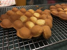HK Bubble Waffle (may be substituted without evaporated milk)