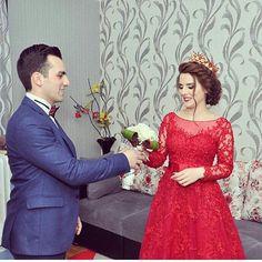 """1,139 Likes, 16 Comments - 💜Adminka:Samira,Nermin💜 (@sevimli_cutlukler1) on Instagram: """"Ayu Qızlarımdan biride evlendi 😍😍 Canım menim Allah xosbext elesin 💜💙💛💚💑🙏😘😚👍😍"""""""