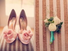 #weddings #shoes #flowers