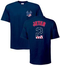 Derek Jeter shirts | Details about Yankees Derek Jeter Stars Stripes Jersey T-Shirt sz XL