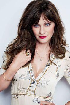 Zooey Deschanel - New Girl Emily Deschanel, Zooey Deschanel Hair, Zooey Dechanel, Keratin, Pretty People, Beautiful People, Jessica Day, Up Girl, Beautiful Actresses