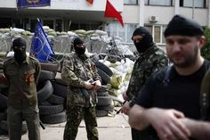 In #eastern #Ukraine, the mob rules  Masked armed men in military fatigues made some attempt to marshal the crowd. His mistake was to run from the advancing mob, and that was enough for the men and women carrying clubs, knives and swords through Donetsk's Lenin district.  #World | #Dunya #News a #Pakistan's Best #News Network