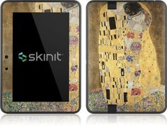 Skinit Klimt - The Kiss Vinyl Skin for Amazon Kindle Fire HD 7 by Skinit. $19.99. IMPORTANT: Skinit skins, stickers, decals are NOT A CASE. Our skins are VINYL SKINS that allow you to personalize and protect your device with form-fitting skins. Our adhesive backing can be applied and removed with no residue, no mess and no fuss. Skinit skins are engineered specific to each device to take into account buttons, indicator lights, speakers, unique curvature and will ...