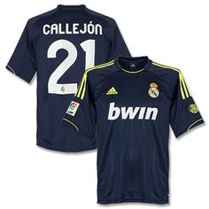 5d28bb0c5 Mens 2012 13 Real Madrid Raphaël Varane 2 Away Soccer Jersey Football Shirt  on eBid