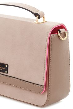 Paul's Boutique Spring / Summer 2015 | WEB EXCLUSIVE Nicole cross-body bag in Classic Nude. www.paulsboutique.com x