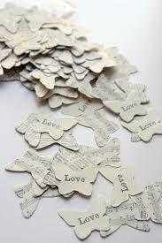 butterfly wedding confetti