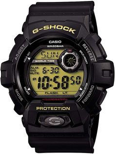 online shopping for Casio G-Shock Black Green Standard Japanese Model from top store. See new offer for Casio G-Shock Black Green Standard Japanese Model Best Kids Watches, Cool Watches, Watches For Men, Wrist Watches, Women's Watches, Casio G Shock, Zeppelin Watch, World Timer, G Shock Black