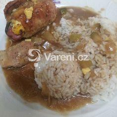 Klasický španělský ptáček recept - Vareni.cz Grains, Rice, Food, Essen, Meals, Seeds, Yemek, Laughter, Jim Rice