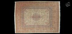 Persian Tabriz Oversize Carpet 10'10″ X 14′ 9″