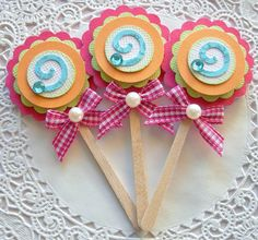 handmade embellishments for scrapbooking - Google Search
