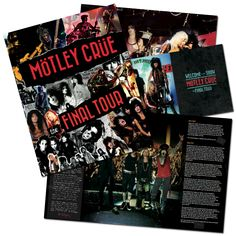 FINAL TOUR COMMEMORATIVE PROGRAM | Final Tour Merch | Motley Crue
