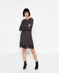 SOFT LACE DRESS-DRESSES-WOMAN | ZARA United States