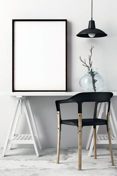 Flawless and modern frame mockup that can be used to display your products and photographs on your website, online platform, social media or anywhere you feel Free Frames, Frames On Wall, Photo Frame Design, Empty Frames, Wall Decor Design, Modern Frames, Mockup, Interior Design, Modern Interior